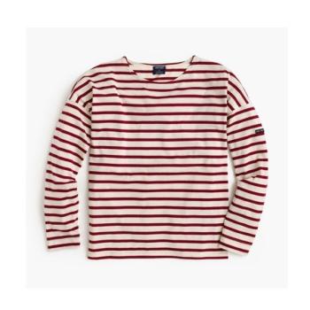제이크루&생 제임스 콜라보 티셔츠 $90 → $41.99