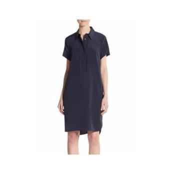 빈스 하프 플래킷 셔츠 원피스 $395 → $144.99