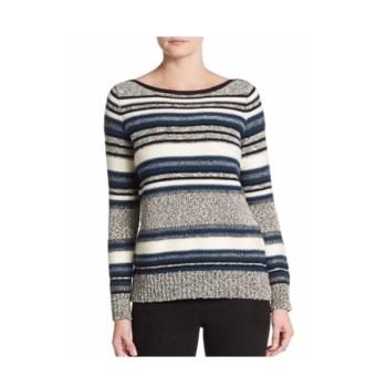빈스 텍스쳐 스트라이프 스웨터 $365 → $114.99