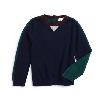 버버리 보이즈 Geoff 캐시미어 스웨터 $195 → $116.98