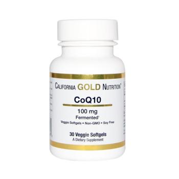 아이허브 데일리 딜 - California Gold Nutrition CoQ10 $4.19